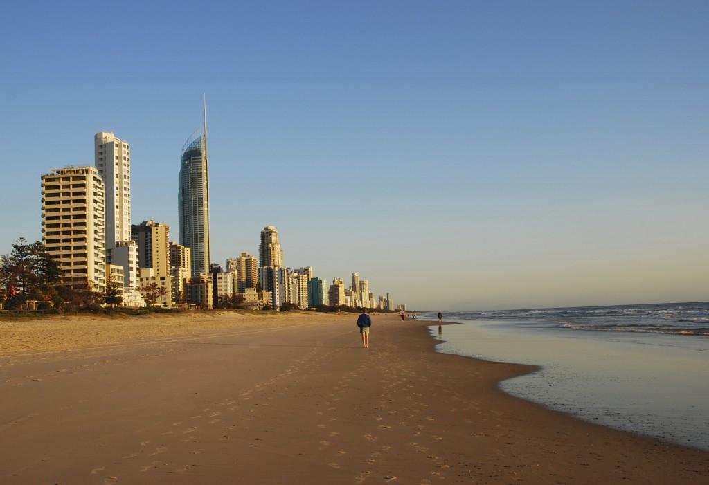 Surfers Paradise, Gold Coast Coastline, Queensland, Australia