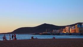 Gran Canaria beach evening