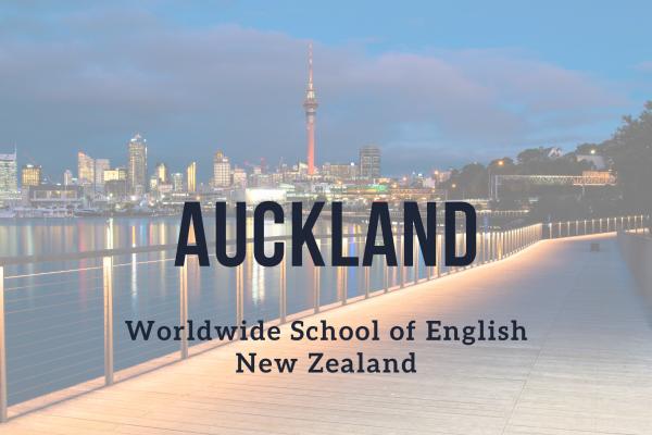 Kurz angličtiny – Auckland