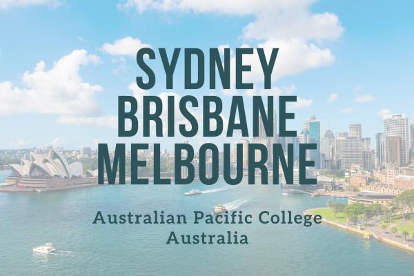 Odborné kurzy v Sydney, Brisbane, Melbourne (APC)