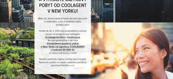Vyhrajte 2 týdny kurzu v NY + letenku! ;-)