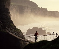 Foyle_Carrick a Rede Rope Bridge
