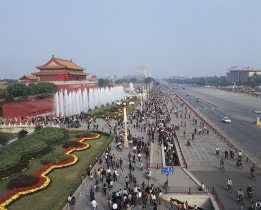 Chang An Street, Tiananmen, Beijing, China