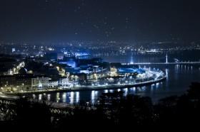 Foyle_Derry by Night