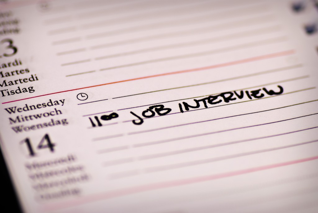 Job interview note