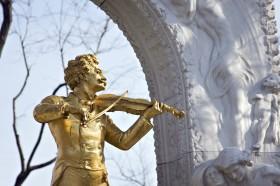 Johann Strauss Statue in Vienna