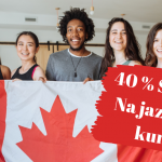Jazykový pobyt v Kanadě – sleva 40%