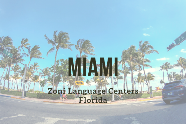 Kurz angličtiny – Miami – Ocean Drive