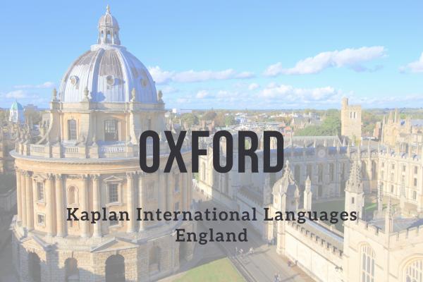 Kurz angličtiny – Oxford