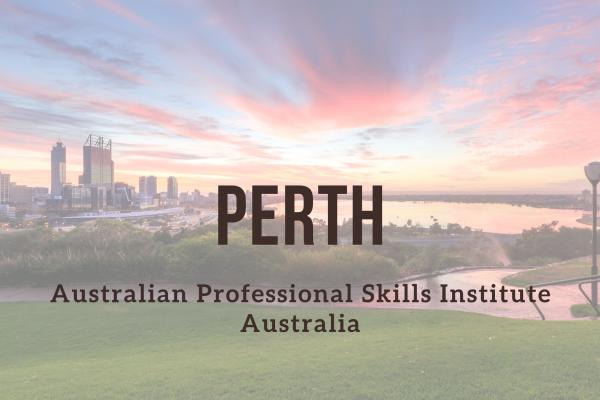 Odborné kurzy – Perth (APSI)