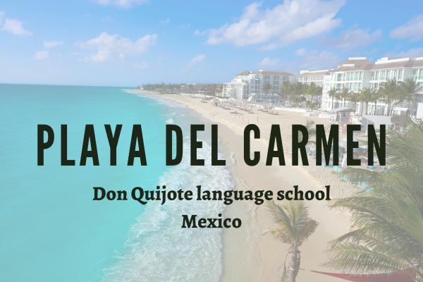 Kurzy španělštiny – Playa del Carmen