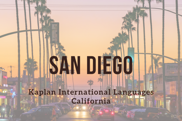 Kurz angličtiny – San Diego