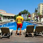 Ondra a jeho práce plavčíka na Kypru