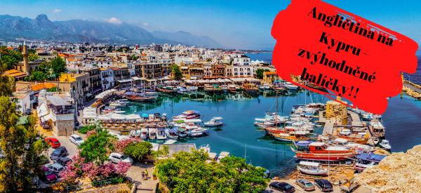 ANGLIČTINA NA KYPRU – ZVÝHODNĚNÉ CENY