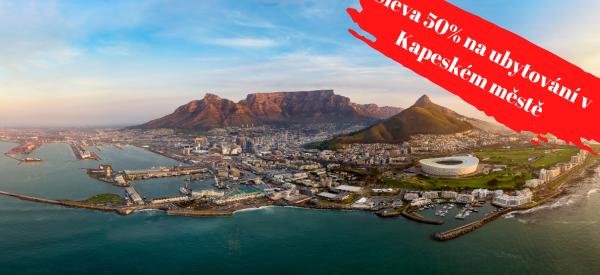 Sleva 50% na rezidenci v Kapském městě
